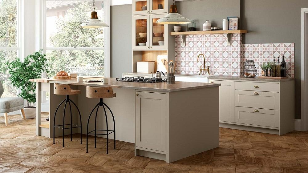 single-tone-warm-grey-kitchen