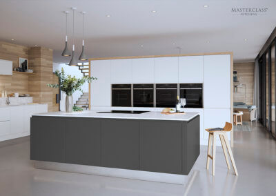Perfect For The Kitchen - Roma Grey And White Masterclass Kitchens