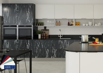 Meteor Nero_Crown Kitchens- Perfect For The Kitchen